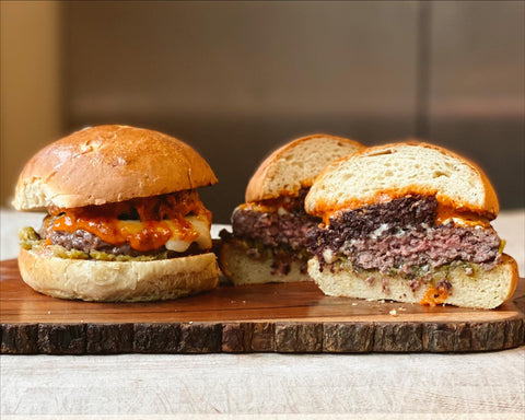 Six Nations Burger by Provenance Village Butcher