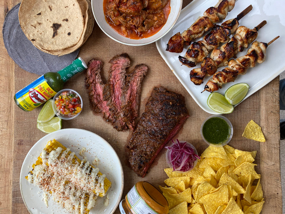 Mexican BBQ Box | Weekend Delivery