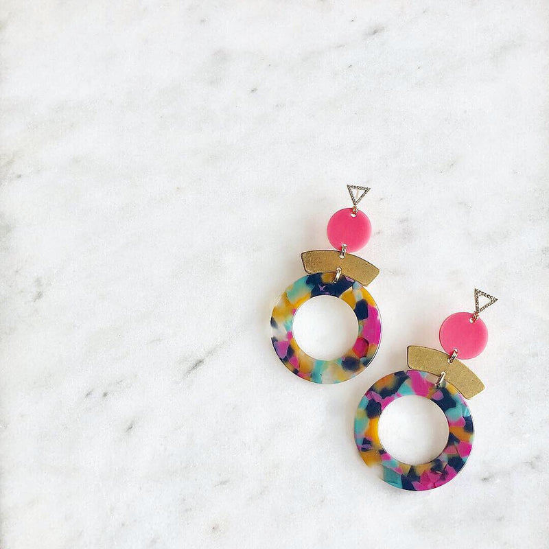 CZ Candace Earrings