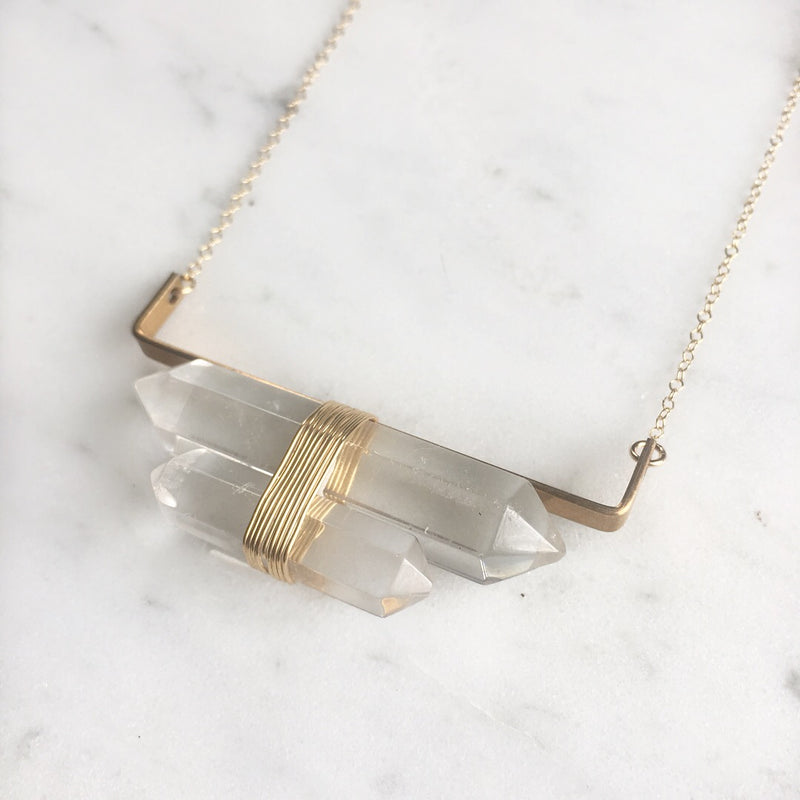 Castillo Quartz Necklace