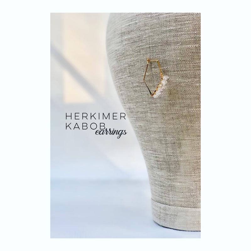Herkimer Kabob Earrings