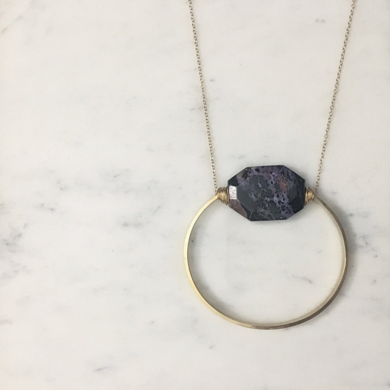 Chariote Full Circle Necklace
