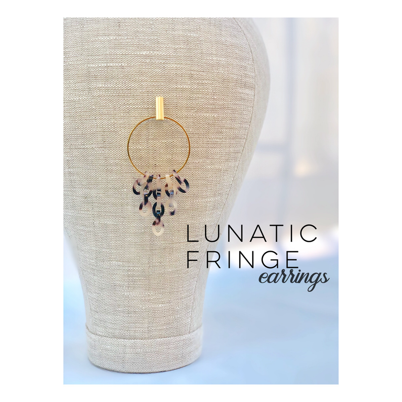 Lunatic Fringe Earrings