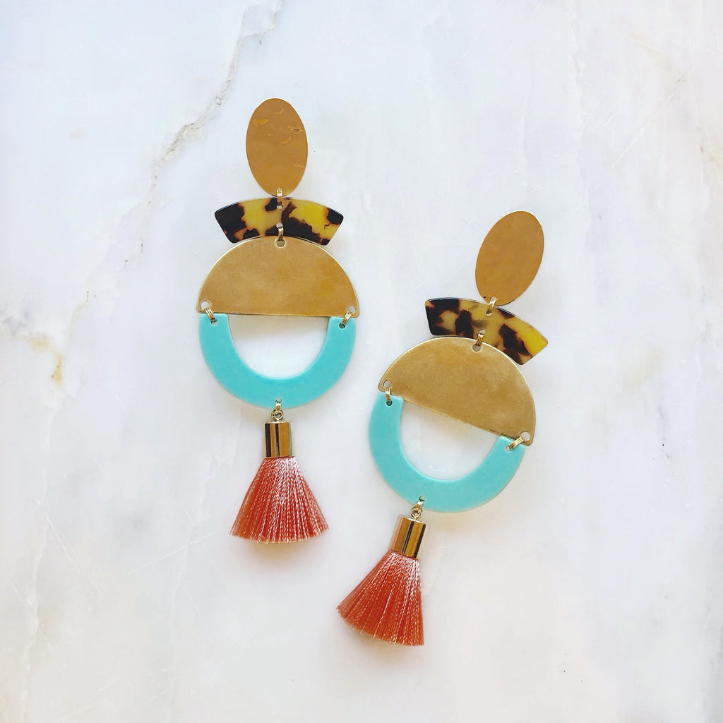 Bon Voyage Earrings