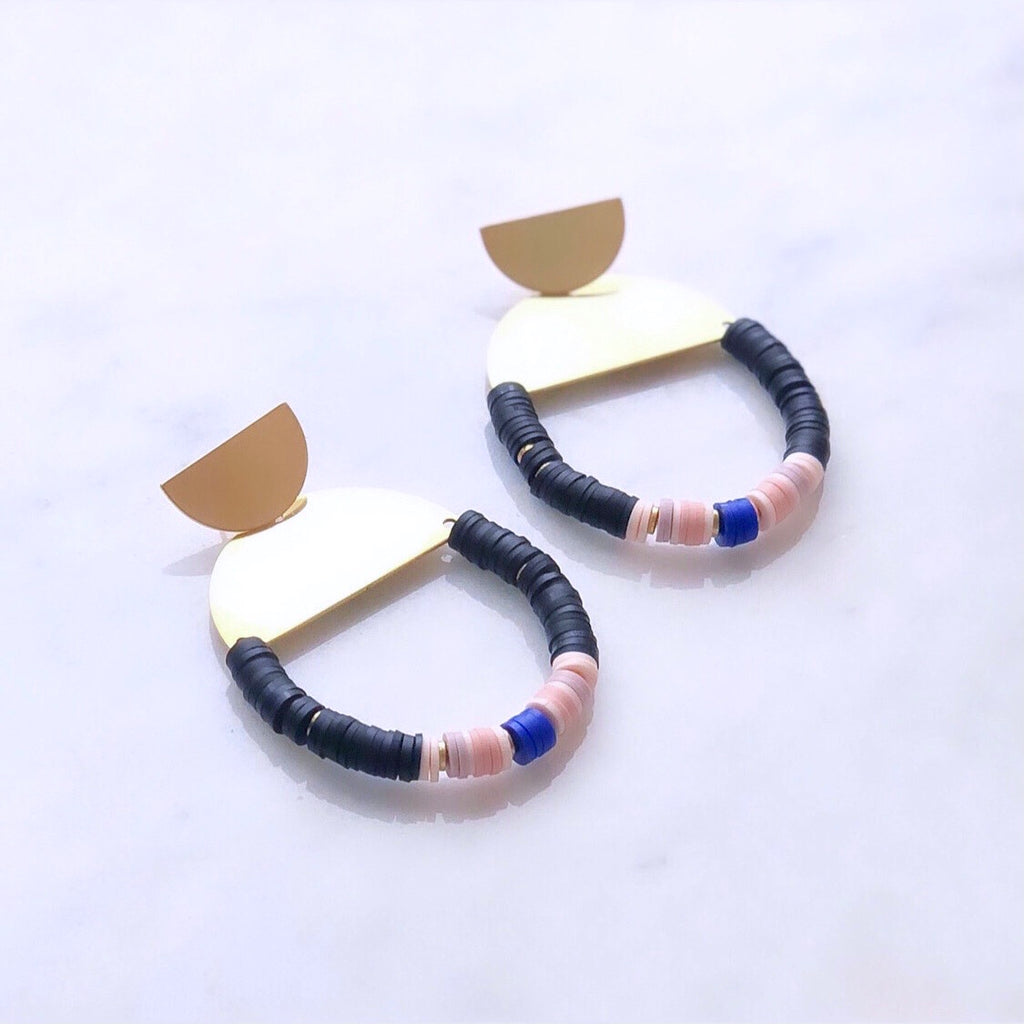 Gigi Heishi Earrings
