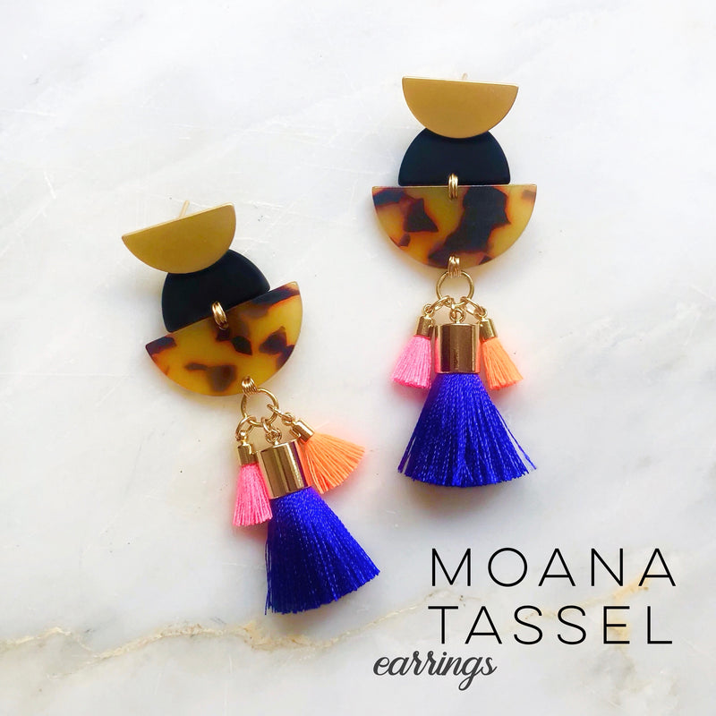Moana Tassel Earrings