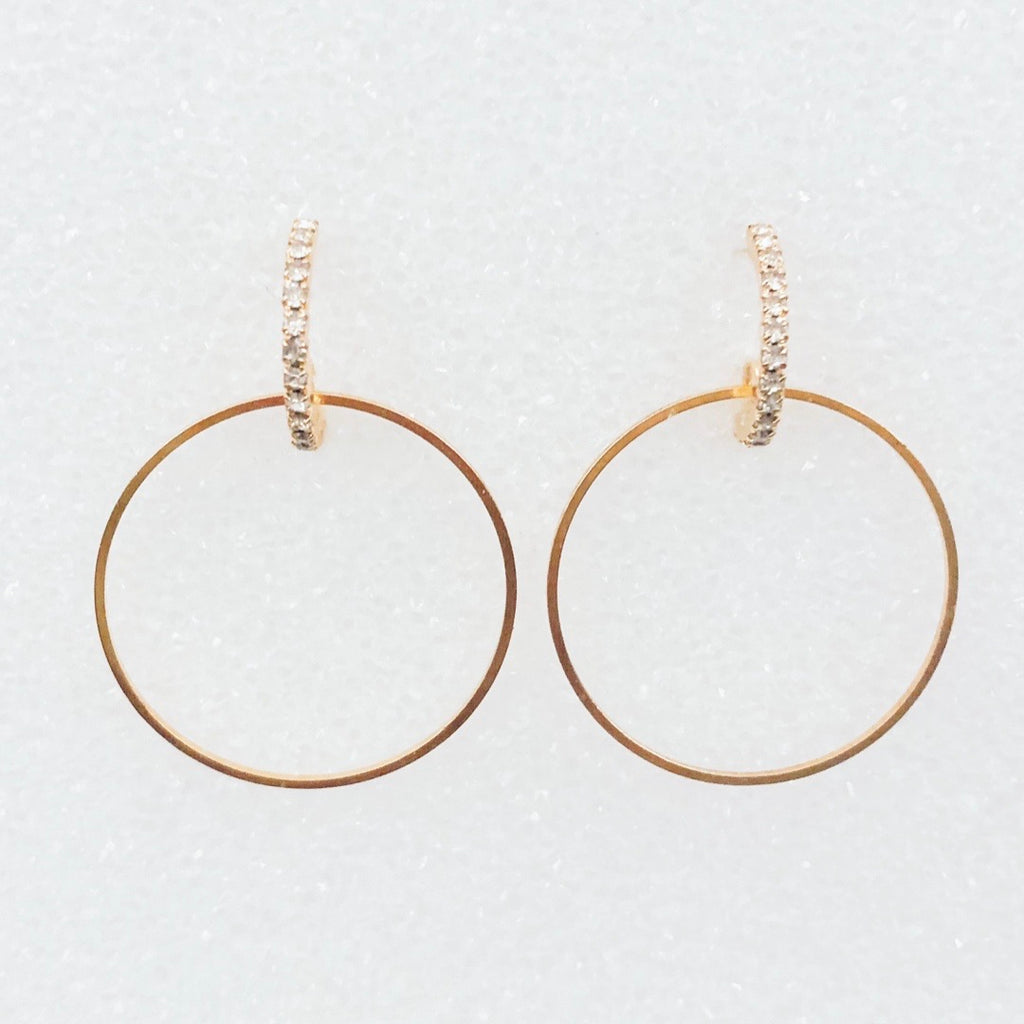 Curb Appeal Hoop Earrings