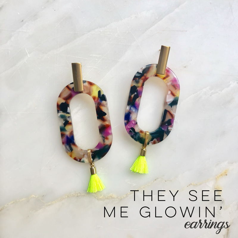 They See Me Glowin' Earrings