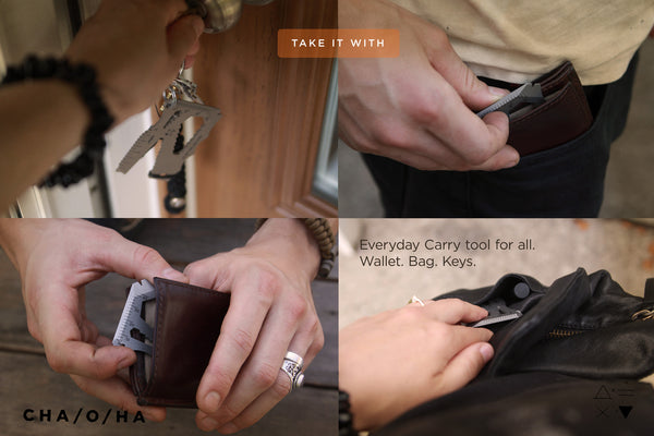 Slim EDC Card, the Everyday Carry Multi-Tool