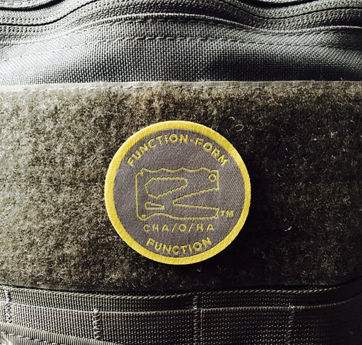 Function-Form Function Morale Patch, Grey & Gold
