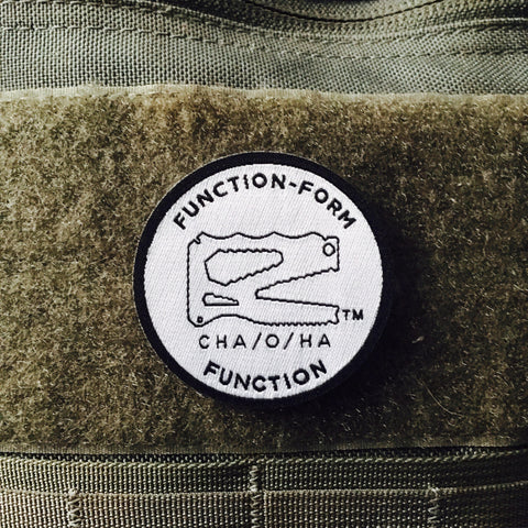 Function-Form Function Morale Patch, White & Black