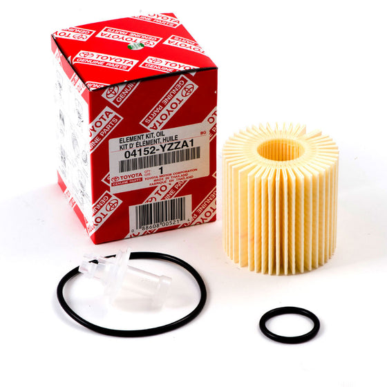 OEM Toyota Oil Filter Kit Insert w/O-Ring  #04152-yzza1