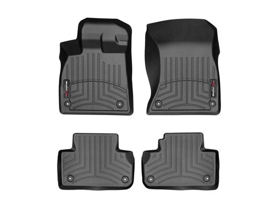 Weathertech 2018+ Audi Q5/SQ5 Digi-Fit Floor Liners (w/Retention clips) | 441146-1-2