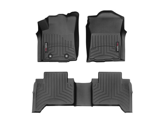 Weathertech 2016-2017 Toyota Tacoma Double Cab Digi-Fit FloorLiner (6-Speed Manual) 44872-1-2