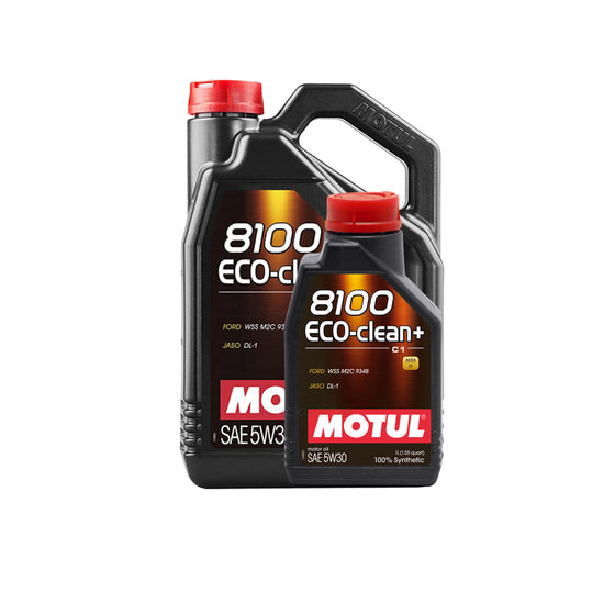 Motul 5W30 8100 Eco-Clean+ Motor Oil | 1L - 5L