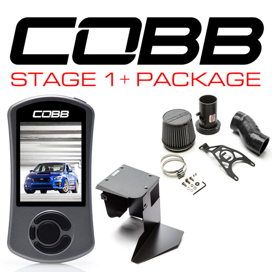 COBB Power Pack - Stage 1+ | 2015-2018 Subaru STI | 616X01P-BK