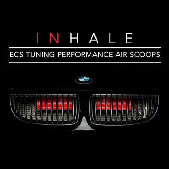 ECS Tuning BMW e90/e91/e92/e93 Air Scoops. | Black