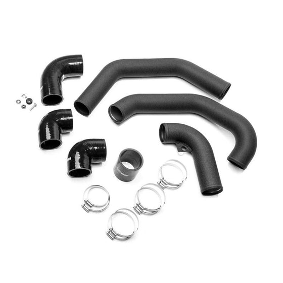 Cobb Front Mount Intercooler Hard Pipe Kit - Hot | 2008-2014 Subaru STI