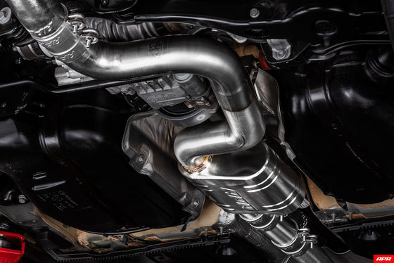 MK7.5 Golf R Catback Exhaust System - Post Facelift - Trackwerks