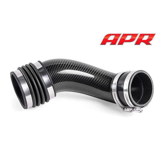 APR Stage II Carbon Fiber Turbo Inlet Pipe MQB 2.0T E888 - Trackwerks