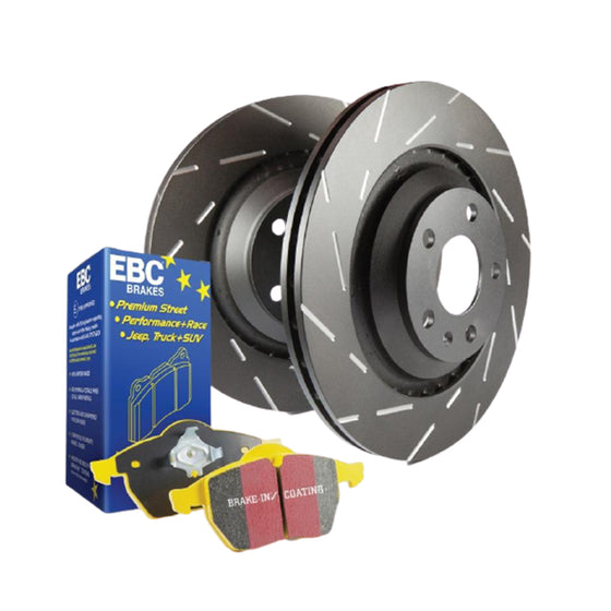 EBC Brake Package - Front Yellowstuff / USR | 2015+ Volkswagen Golf R & Audi S3 | S9KF1538