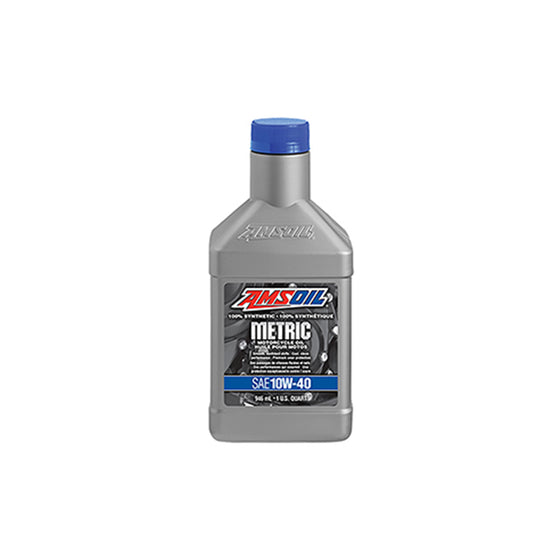 10W-40 Synthetic Metric Motorcycle Oil | MCFQTC