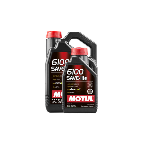 Motul 6100 Save-Lite 5W20 Motor Oil | 1L - 4L