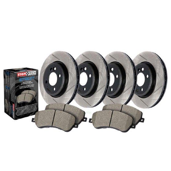 Stoptech Brake Package - Slotted | B8 Audi S4 / S5 | 934.33048
