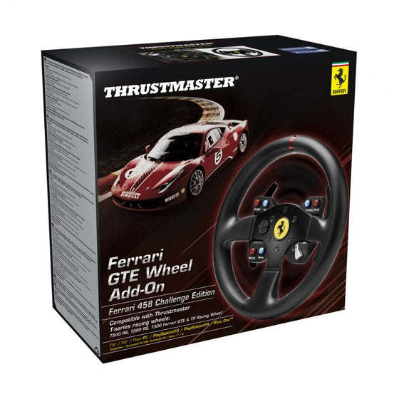 Thrustmaster 458GTE Wheel Add-On