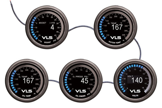 Revel 52mm Water Temp Gauge 100-300 Deg - VLS Gauges