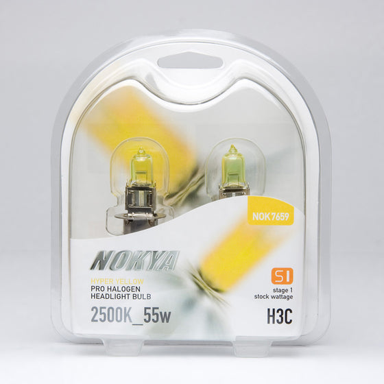 NOKYA Hyper Yellow H3C Headlight Bulbs | NOK7659