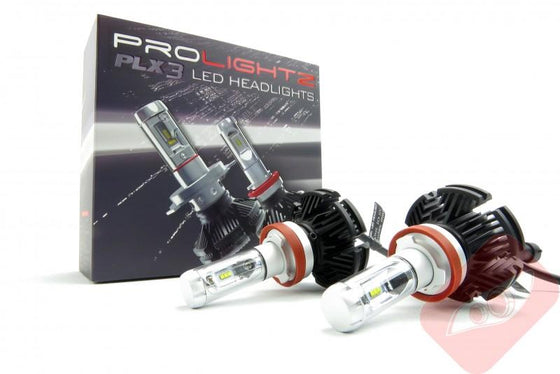 PLX3 H8 / H9 / H11 LED Light Kit - Trackwerks