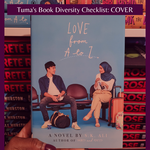 Love from A to Z by S. K. Ali Book Cover- diverse YA books