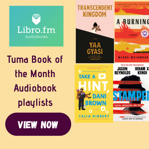 Libro.fm audiobooks of Tuma BOTM selections
