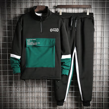 Load image into Gallery viewer, Sport Tracksuite long sleeve Plus size Men's sweatpants