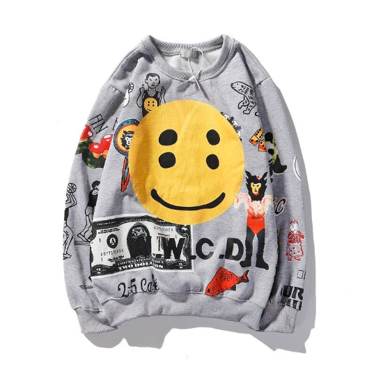 Kanye West Money Smile Sweatshirt See Ghosts