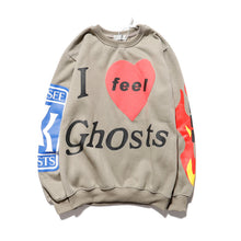 Load image into Gallery viewer, Hoodie Kanye West Feel Ghosts Sweatshirt See Ghosts