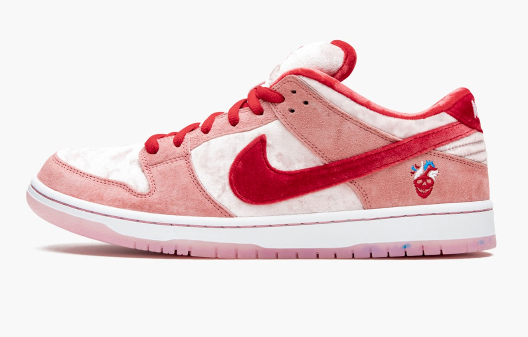 Refurbished Nike SB Dunk Low Pro Sneakers `Strange Love`
