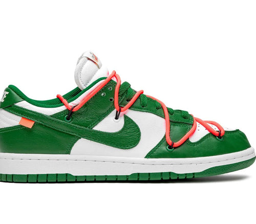 Nike SB Dunk Low Pro Sneakers `OFF WHITE` Low Pine Green