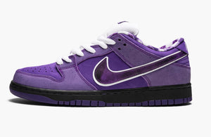 "Refurbished Nike SB Dunk Low Pro Sneakers ""Concepts/Purple Lobster"""