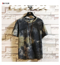 Load image into Gallery viewer, Tie-Dye Bleached colors T-shirt Men & Women