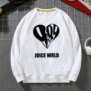 Juice Wrld  Hip Hop  Men's and Woman´s World Sweatshirts Loose