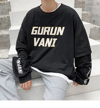 Load image into Gallery viewer, Two pieces Loose Sweatshirts Gurunvani Fashion