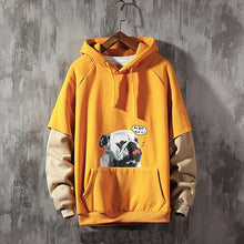 Load image into Gallery viewer, Dog Two pieces Male Female streetwear Long Sleeve Hooded Sweatshirt