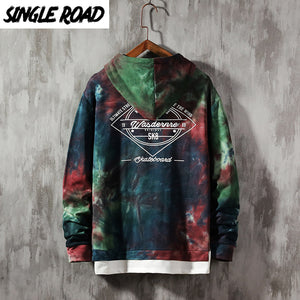 Two pieces Oversized Skateboard Men's Hoodies