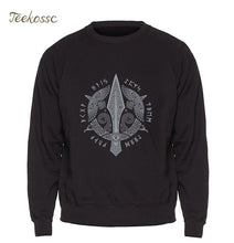 Load image into Gallery viewer, Odin Vikings Sweatshirt Men / Women Berserker  Loose Stylish