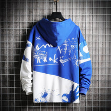 Load image into Gallery viewer, Men's Girls Hoodies Oversized Patchwork Print Harajuku