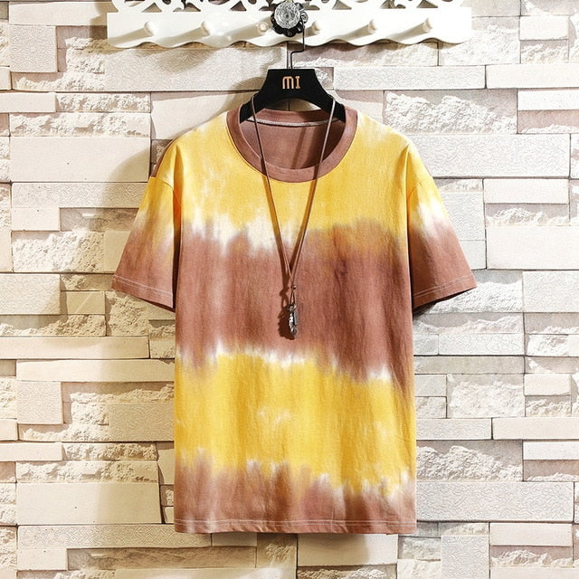 Tie-Dye Bleached colors T-shirt Men & Women