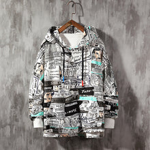 Load image into Gallery viewer, Mens Hoodies Oversized Japanese Cartoon pop art Harajuku