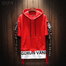 Load image into Gallery viewer, Two Pieces Hoodies Men Short Sleeve